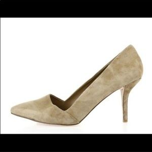 SOLE SOCIETY saree taupe pumps